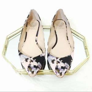 Vince Camuto Floral Pointed Flats!